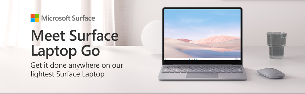 Meet Surface Laptop Go Platinum