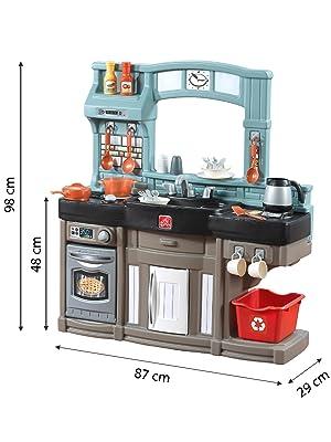 Step 2 - Cocina Contemporary Chef CBtoys (85320): Amazon.es: Juguetes y juegos