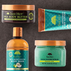 Tree Hut Coconut Lime Product Family