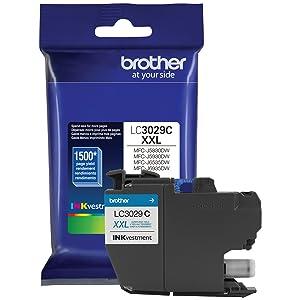 Brother International LC3029C Cyan Cartridge Ultra Tonr High Yield For