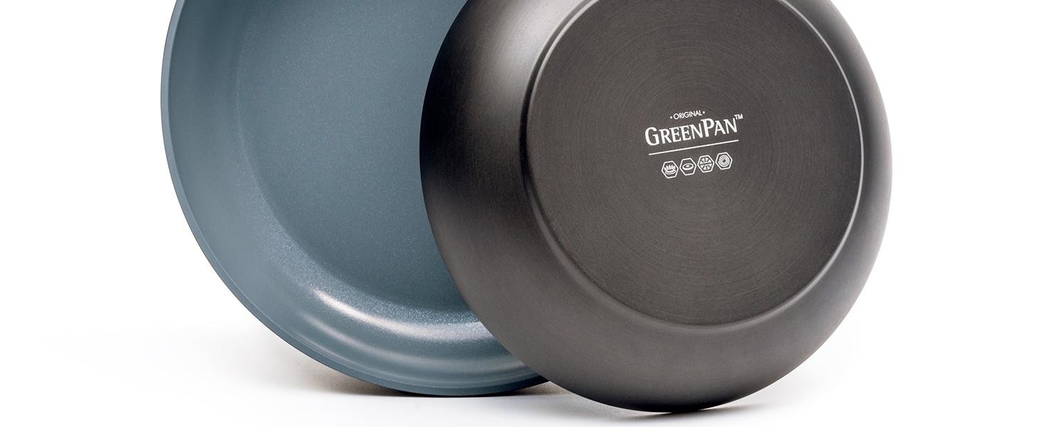 GreenPan, Paris Pro, Healthy Ceramic Nonstick, frypan, hard anodized, scratch-resistant, dishwasher