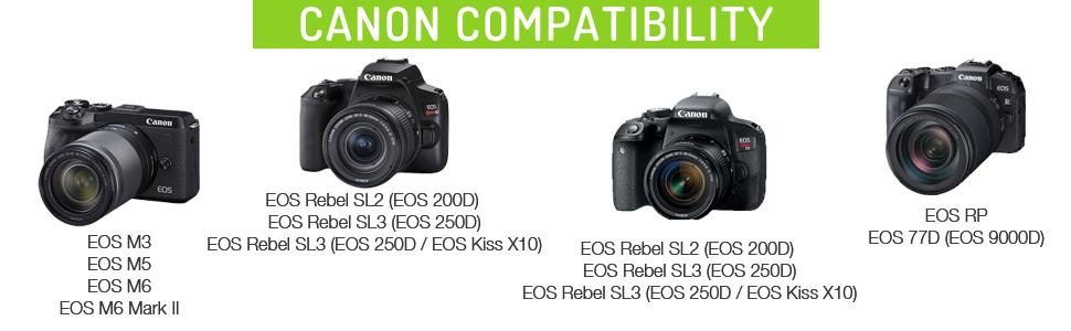 Powerextra Canon LP-E12 2 x Bater/ías de Repuesto con Cargador Doble para Canon LP E12 y Canon EOS M EOS M50 EOS M100 EOS Rebel SL1 EOS 100D Canon Powershot sx 70 HS