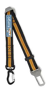 kurgo direct to seatbelt swivel tether, dog seatbelt, dog srat belt, for small medium large pets