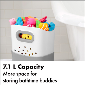 OXO Tot Stand Up Bath Toy Bin