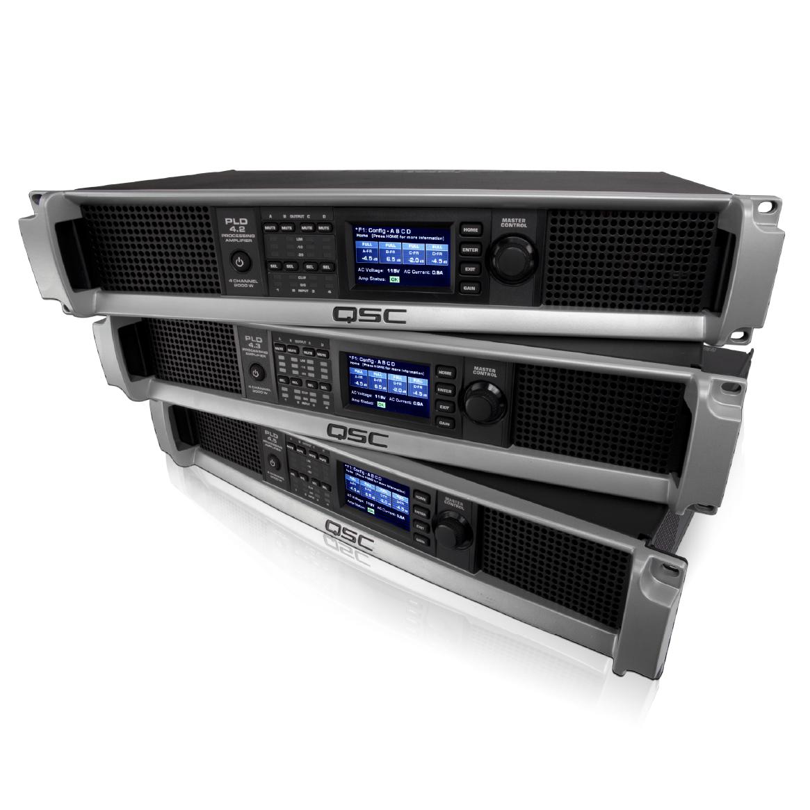 qsc pld 4 3 1400 watt four channel power amplifier musical instruments. Black Bedroom Furniture Sets. Home Design Ideas