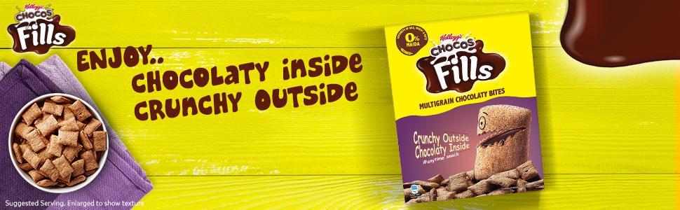 chocos fills,snacks,healthy