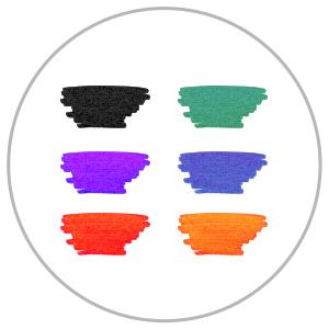 Cello Whitemate Whiteboard Markers | 6 Fun and brilliant colors