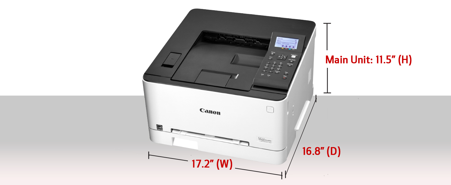 Canon Color imageCLASS LBP622Cdw -Wireless, Mobile Ready, Duplex Laser Printer, Compact Size - White