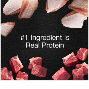 1st Ingredient Is Real Protein, Real Meat, Protein First, Protein Rich, Meat Dog Food