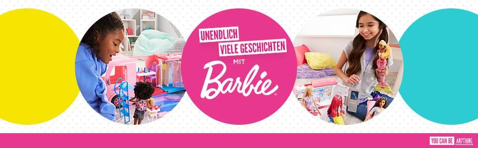 barbie dwj68 hundespaziergang puppen spielset mit puppe und stubenreines h ndchen m dchen. Black Bedroom Furniture Sets. Home Design Ideas