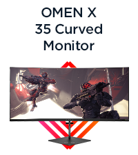 OMEN X 35 Curved Monitor