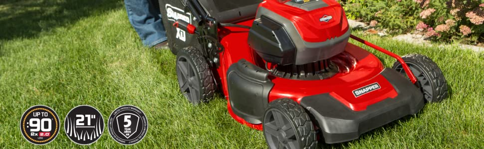 Snapper XD Battery Electric Lawn Mower