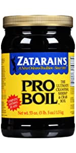 Zatarain's Seafood Pro-Boil, 53 oz