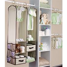 delta children closet nursery organizer baby essentials clothes storage