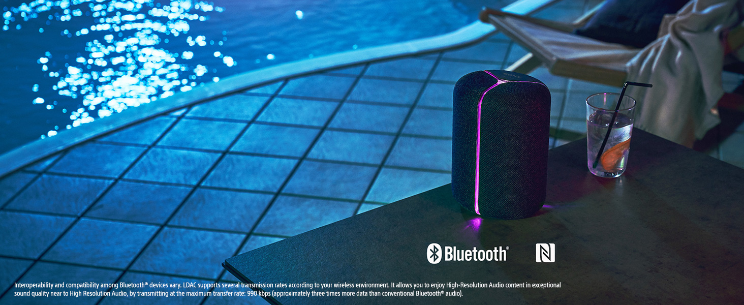 Wireless with Bluetooth technology
