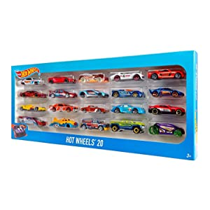 Hot Wheels 20 Car Gift Pack - Styles May Vary, Radio & Remote ...