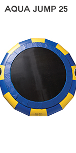 25 foot water trampoline bouncer lake raft