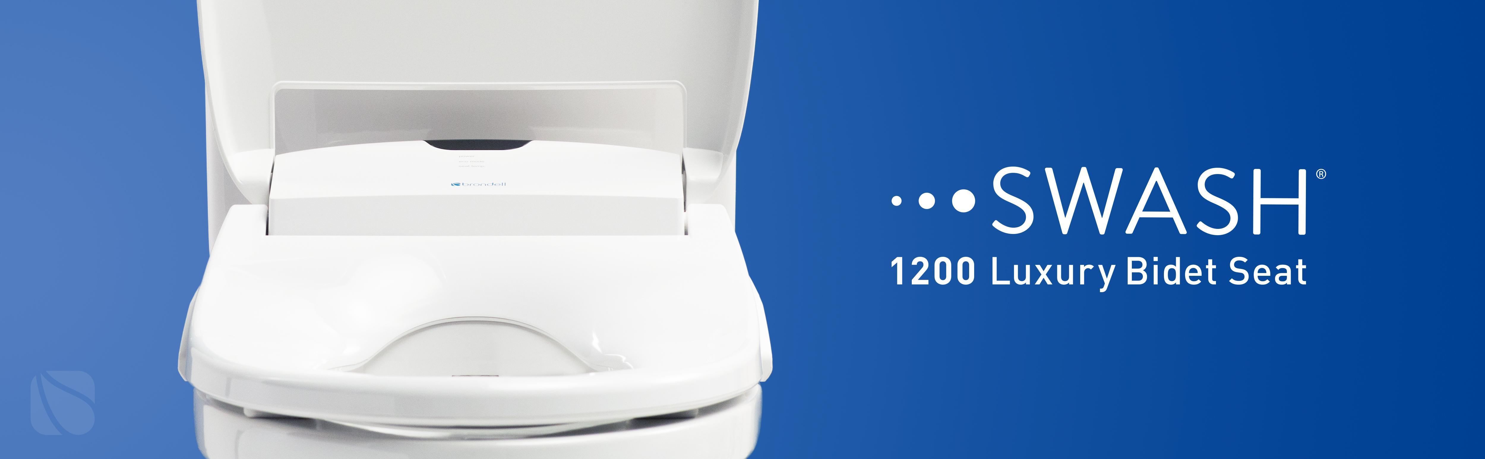 Brondell Swash 1200 Luxury Bidet Toilet Seat In Elongated