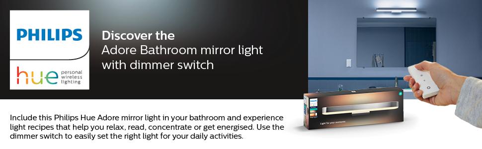 Hue Adore Mirror Wall light
