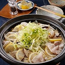 まいにち小鍋 小鍋 豚肉と白菜のレモン鍋