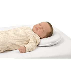 almohada bebe, almohada bebe cuna, almohada bebe plagiocefalia, almohada bebe cabeza plana,