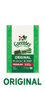 Your dog can't wait to get their paws on GREENIES Original Dog Treats!