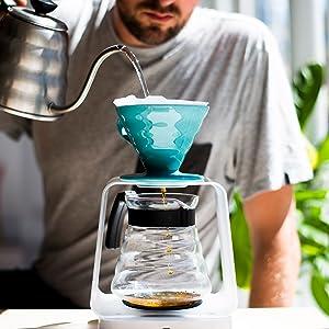 Hario koffiedruppelwaterkoker