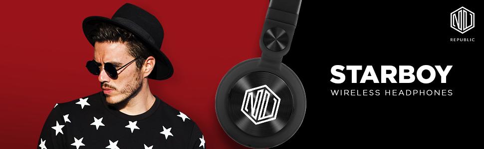Starboy-Wireless Headphones