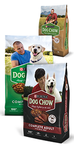 Purina Dog Chow dry dog food bags