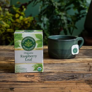 Traditional Medicinals Organic Raspberry Leaf Herbal Tea