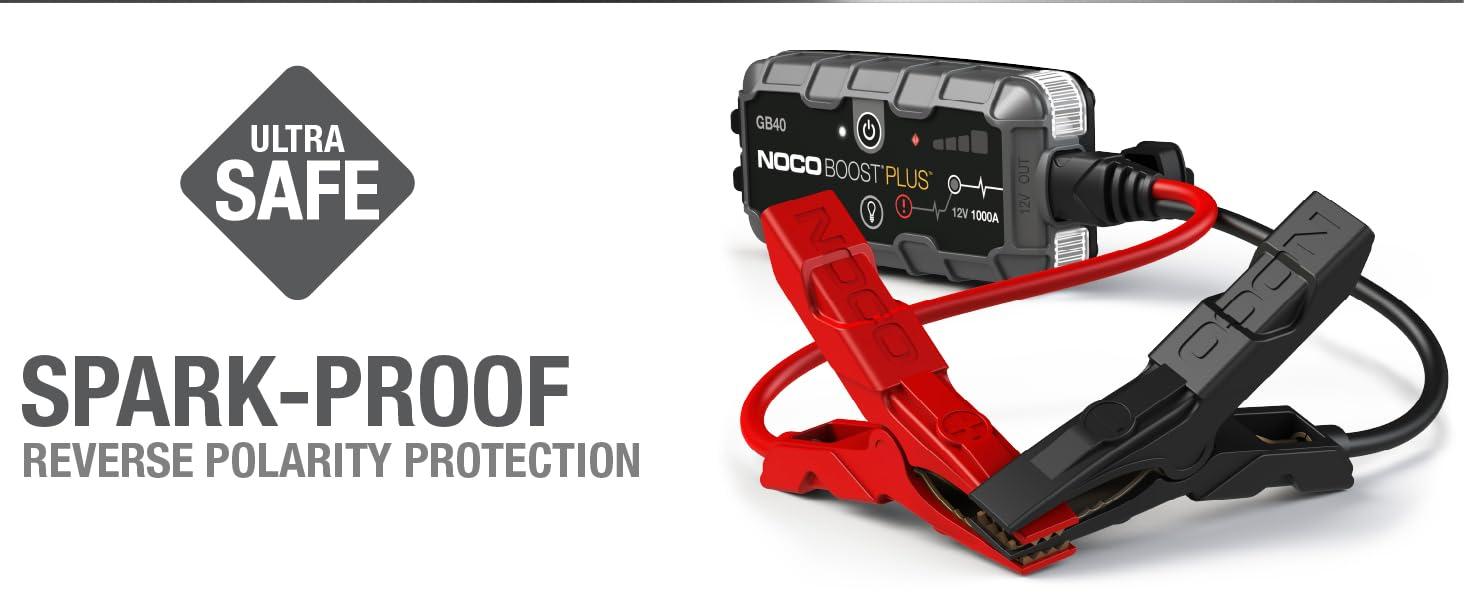 GB40, UltraSafe, Jump Starter, NOCO Boost, Boost, Safe