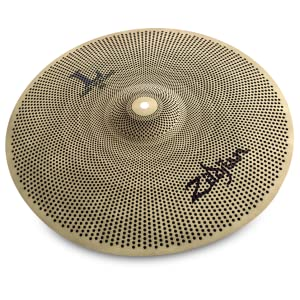 Zildjian, L80, low volume, 14, crash, cymbal, percussion, professional, quiet, practice