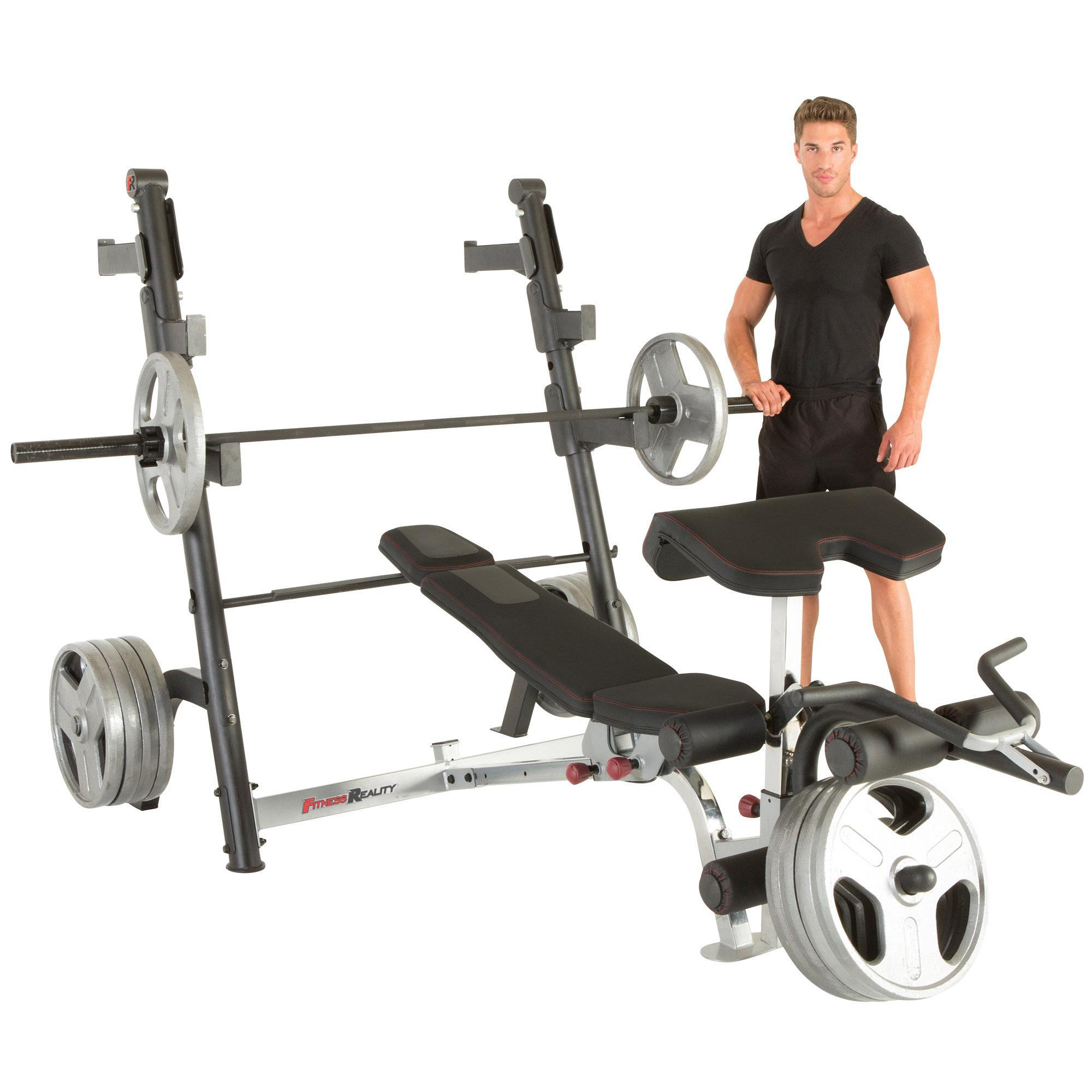 Discovering The Answers To Valuable Products Of Strength Training: Amazon.com : Fitness Reality X-Class Olympic Weight Bench