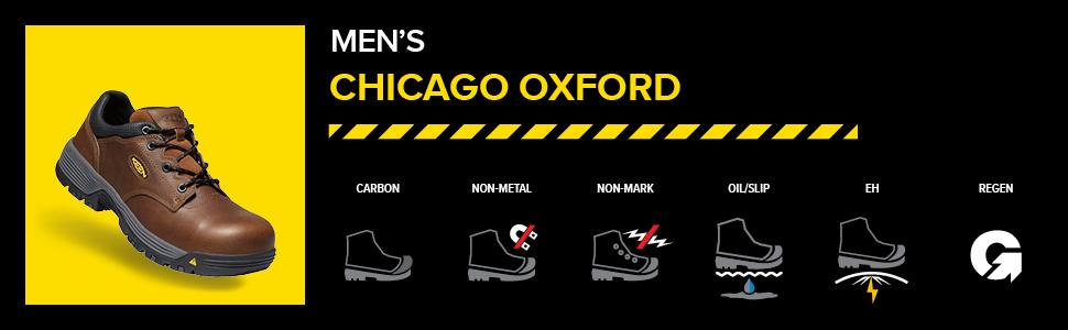 mens chicago oxford low hero image