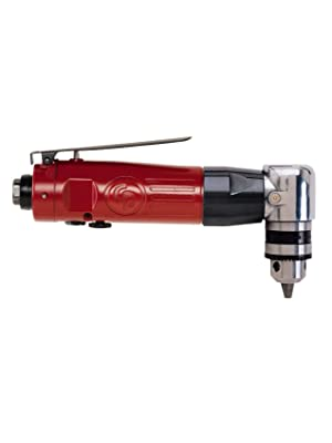 """3//8/"""" Chuck Air Reversible Angle Drill Chicago Pneumatic 879"""