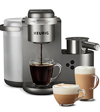 Keurig K-Cafe Coffee Maker, cappuccino maker, latte maker, coffeemaker, coffee machine, brewer,kurig