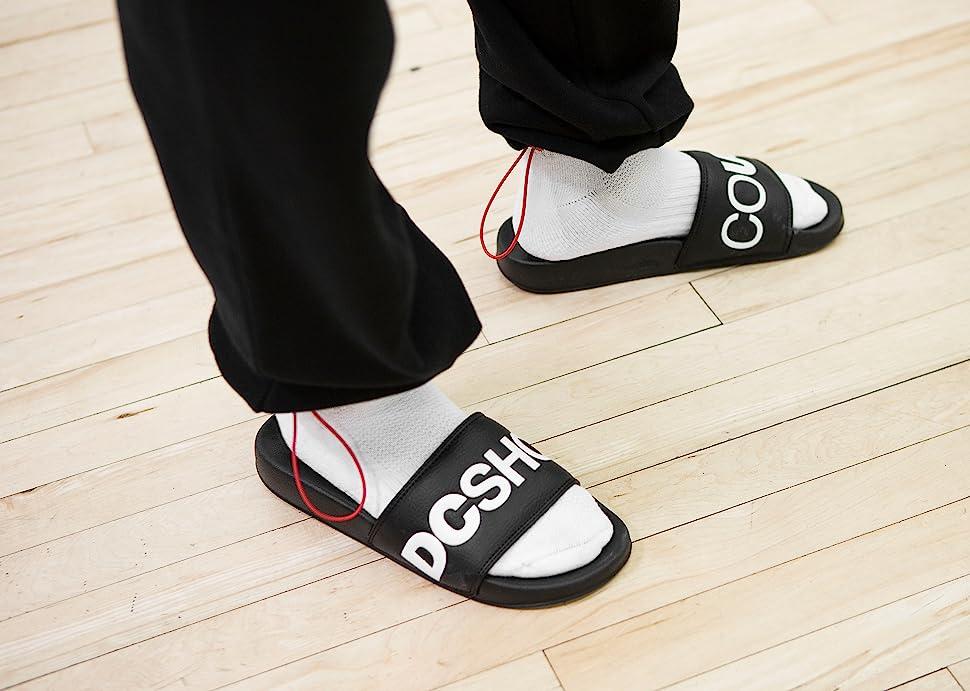 DC Shoes, slides, sandals, Bolsa