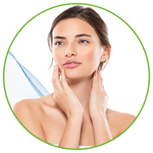 Assists in softening the skin texture