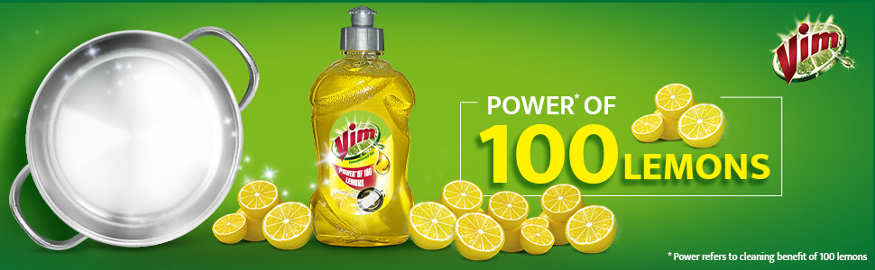 d019e0330eee4 Vim Dishwash Gel, Lemon, 1.8 L