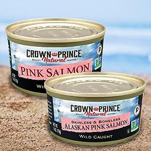 Crown Prince Natural Alaskan Pink Salmon