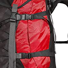 Pack all your gear down tight so it's easier to carry with the handy side compressions straps.