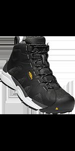 mens san antonio mid alloy aluminum toe safety footwear work boot