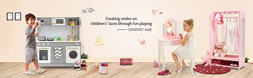 tocador para niños
