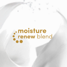 Dove Moisture Renew Icon on a creamy background