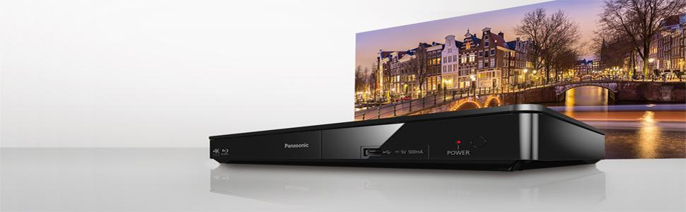 Panasonic DMP-BDT180EG - Reproductor Blue Ray (Escalado 4k, con CD ...