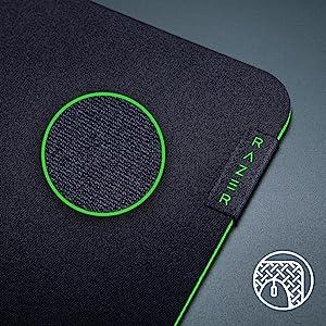 Goma antideslizante Razer Gigantus V2 Large Alfombrilla suave Gaming para Rat/ón Tela texturizada de microtejidos /óptima rapidez y control Medidas 450 x 400 x 3 mm grosor Negro