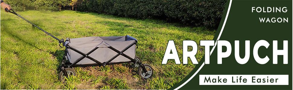 Amazon.com: Artpuch - Carrito de jardín plegable para todo ...