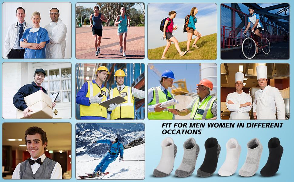 cycling socks for men plantar fasciitis socks women arch support womens ankle socks size 7-9