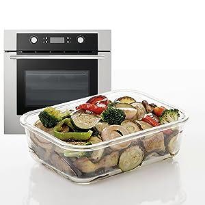 TATAY 1161809 -Cook&Eat Contenedor de Alimentos hermético de ...