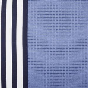 blue white stripe lacoste bedspread bedset bedroom comforter duvet cotton cozy soft crocodile